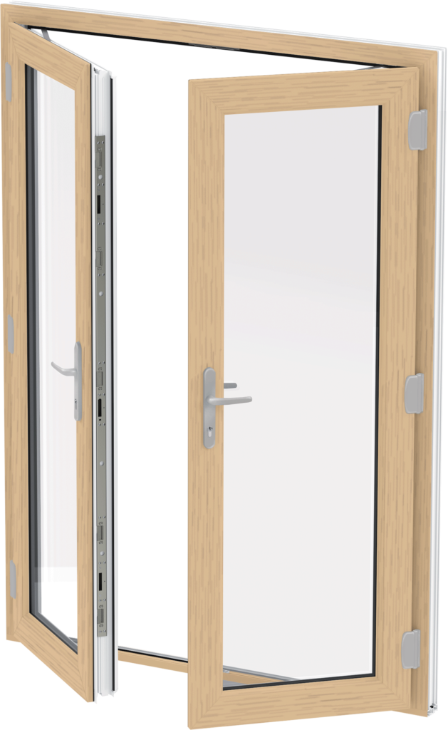 Irish Oak French Doors Essex