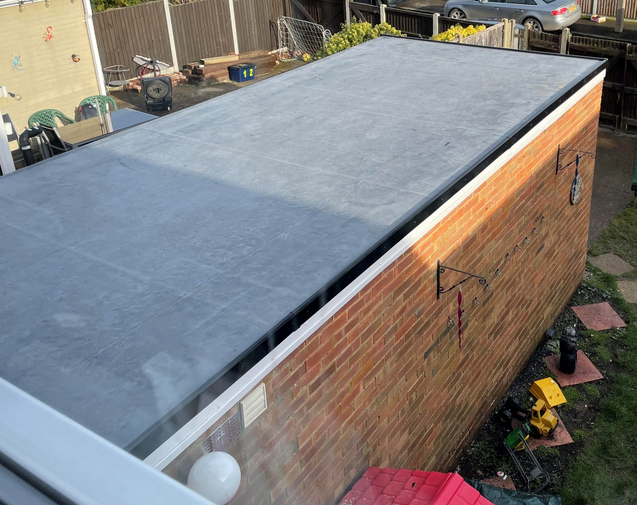 EPDM flat roof prices westcliffe-on-sea